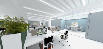 M2 Office interior services