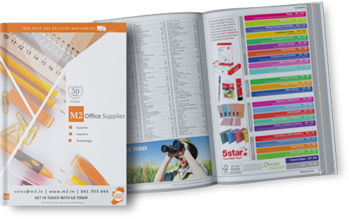 m2 office supplies catalogue